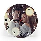 Gifty Lab Reloj de Pared Personalizado con tu propria...