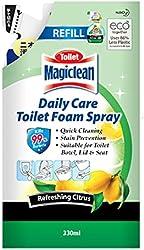 Magiclean Daily Care Toilet Foam Spray Refill 330ml - Refreshing Citrus