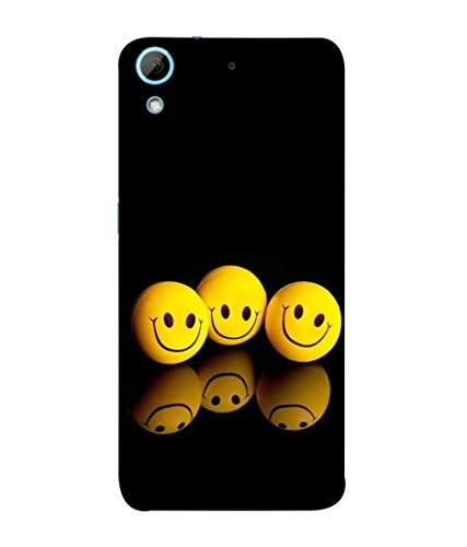 PrintVisa Shadowing Smiles 3D Hard Polycarbonate Design Back Case Cover for HTC Desire 626 G Plus Dual SIM