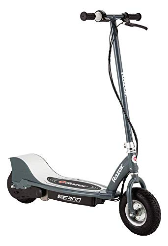 Razor-E300 Scooter eléctrico, Color Gris Mate, l (Razer RZ-E300-MG)