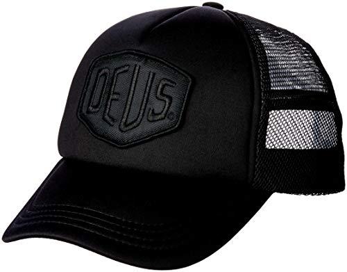 Deus Ex Machina Baylands Trucker Cap–Black