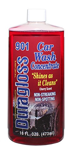 Duragloss 901 Red Car Wash Concentrate - 16 oz.