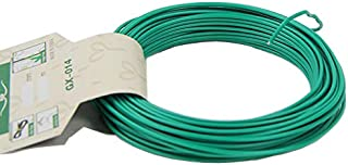 VIMOA Garden Twist Tie Bonsai Training Wire 50 Feet 1.8mm Twine Perfect for Plant Cages