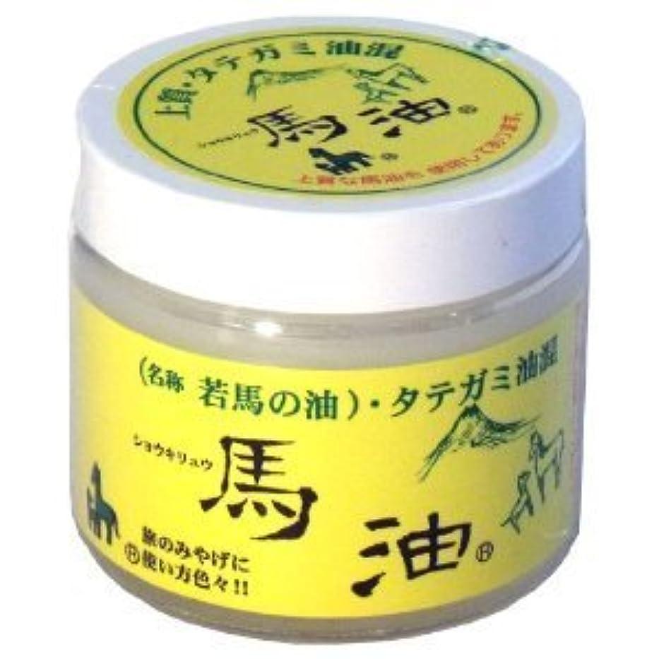 敏感な繊毛仮定するショウキリュウ 馬油(若馬の油) 80ml ×10