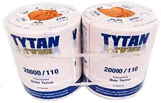 Tytan International PBT20110TONBP Baler Twine, Orange