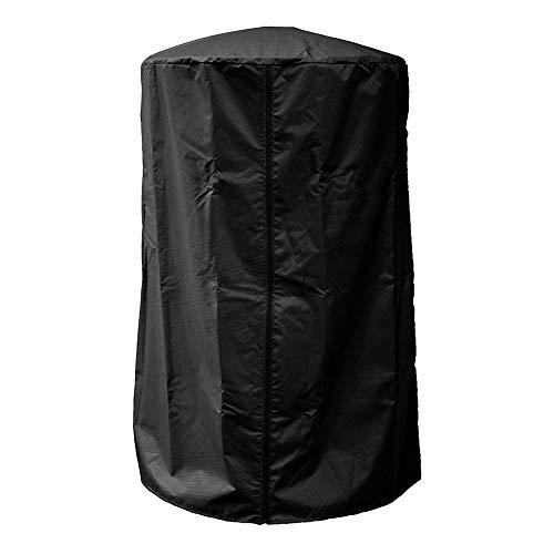 Chyuan Wetterschutzhülle für Terrassenheizer, Abdeckhaube für Heizpilz, Heizstrahler Abdeckung für Außenbereich, Gartenheizung, Terrassenheizung 96.5cm*61cm (schwarz)