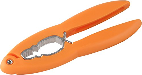 Fackelmann Nussknacker Soft aus Kunststoff, 16 cm aus Kunststoff in schwarz /orange