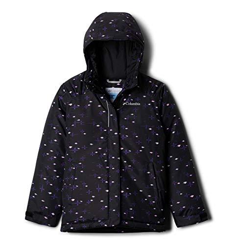 Columbia Girls' Big Horizon Ride Jacket, Black Star Follies, Large