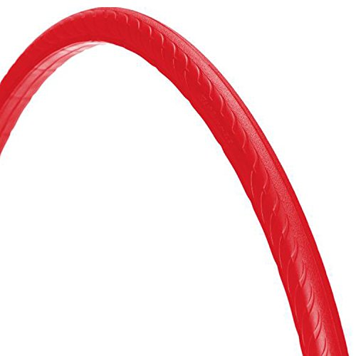 Tannus 700 x 25C, High-Tech-Polymer - Reifen, ohne Luft' solid Fixie Singlespeed Reifen Aither 1.1, Farbe:rot