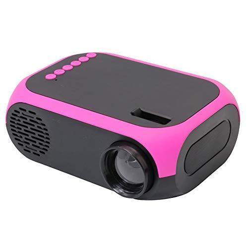 TAIQIXI Nessun Videoproiettore Mini Proiettore Portatile A LED Portatile per Videomobili(D)