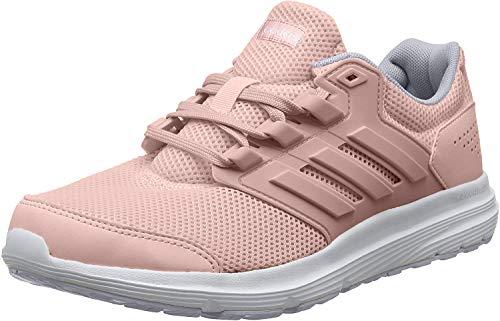 Adidas Galaxy 4, Zapatillas para Correr para Mujer, Pink Spirit/Pink Spirit/Dash Grey