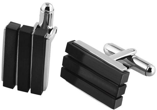 Shahafi GmbH - 009795000002 - Boutons de manchette Mixte - Acier inoxydable