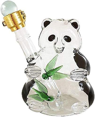 llxyzrzbhd Licorera Whisky Decantador De Vino Decantador de Panda de 500 ml - Tarro de té para el Sol con Grifo Jarra de Agua para cristalería de Entretenimiento de Cocina 1015