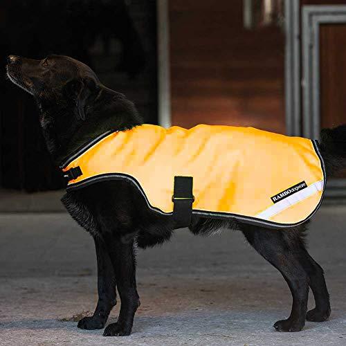 Rambo Reflective Dog Blanket XX-Large Orange