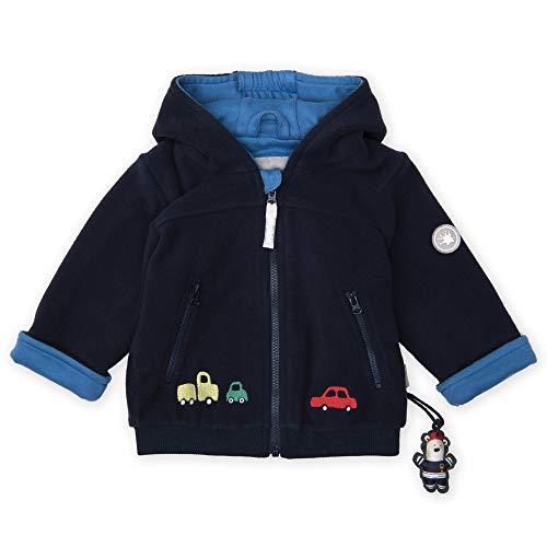 Sigikid Baby Fleece Jacke, dunkelblau (294), 74