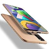 X-level Samsung Galaxy M21 Hülle, Samsung Galaxy M30s Hülle, [Guardian Serie] Soft Flex Silikon Premium TPU Echtes Handygefühl Handyhülle Schutzhülle für Samsung Galaxy M21/M30s Hülle Cover - Gold