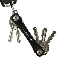 Vergessen Sie Ihren aktuellen übergroßen Schlüsselanhänger, der Ihren Schlüsselanhänger aufhebt. Haben Sie viele unorganisierte Schlüssel gezogen? Keysmart ermöglicht es Ihnen, Ihre Schlüssel zu organisieren und Ihre Taschen freizugeben. Inklusive Sc...