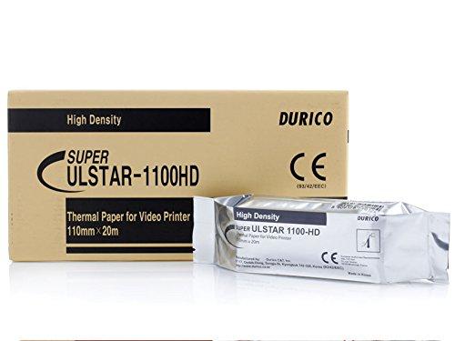 Carta Videostampante Durico Compatibile per Sony Upp-110Hd, Confezione da 5