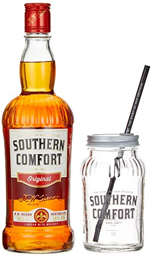 Southern Comfort Original in Geschenkpackung mit Glas (1 x 0.7 l)