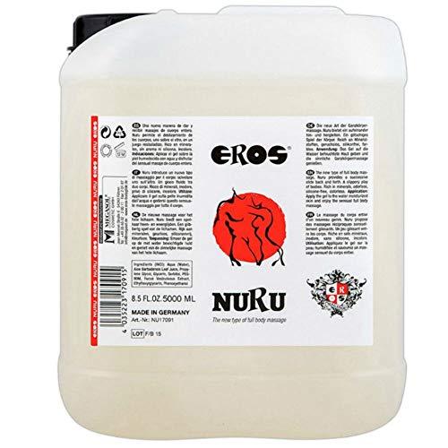 Eros Nuru Massage-Gel 5.000 ml 1er Pack(1 x 5000 milliliters)