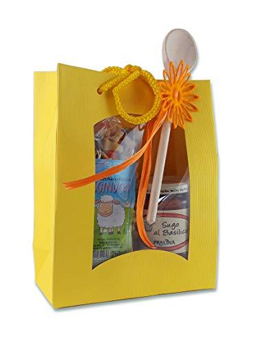 Nudel-Geschenkset Pasta Schnucki mit Sugo al Basilico