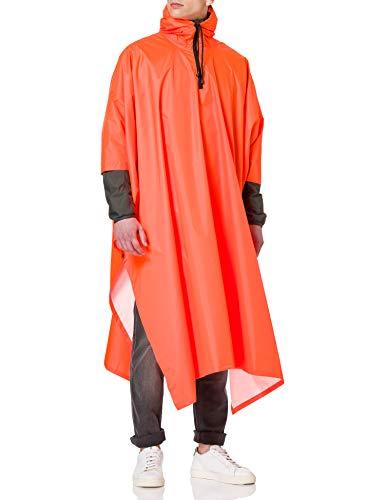 Pinewood Herren Rainfall Poncho, orange, One Size