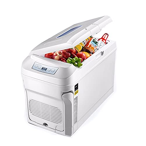 YAHAO Frigo-congelatore Portatile per Auto,Congelatore per Auto Frigorifero Cooler 35L Compressore Freezer 12V   24V   220V Auto Uso Domestico o Casa Auto Campeggio Camera da Viaggio Barca