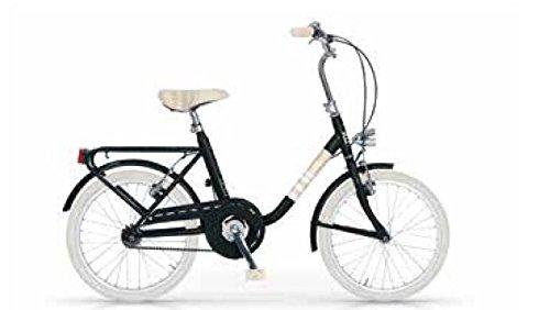 MBM Mini, Bicicletta Unisex – Adulto, (Nero A01), 20'