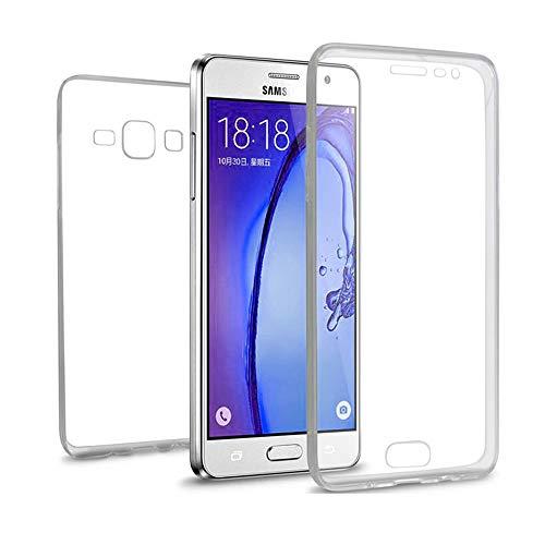 AURSTORE Coque Samsung Galaxy G530 (Grand Prime) – Protection intégrale Avant + arrière en Rigide, Housse Etui Tactile 360 degré – Antichoc, Transparent G530 (Grand Prime)
