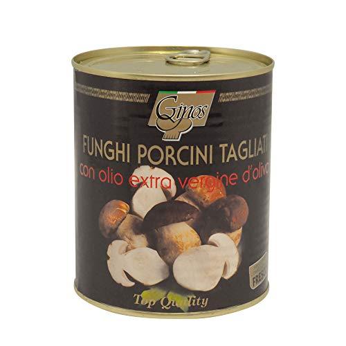 Stargourmet | FUNGHI PORCINI TAGLIATI: Boletus 'ceps' cortados en aceite de oliva |