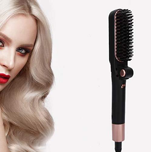 Hair Straightener Comb Brush OFFer Ceramic Max 63% OFF Heating