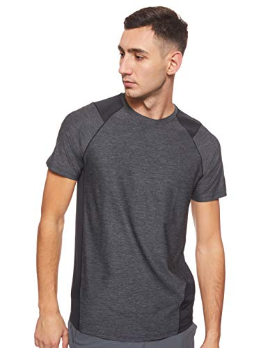 アンダーアーマー メンズスポーツウェア 半袖機能Tシャツ UA MK1 SS 1306428 002 メンズ BLK/SLG 002