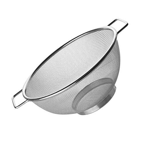 Fackelmann Sieb Ø 20 cm, Küchensieb aus Edelstahl - 3