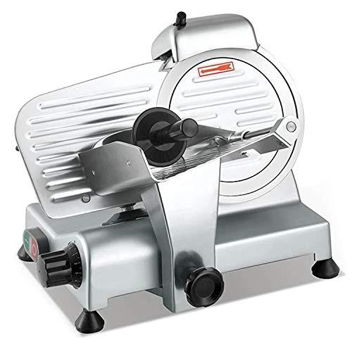 Sirge AFFPROF22 máquina de cortar Cortafiambres Profesional Semi Automático 22cm 280 vatios 3 guardias de seguridad, espesor de 0 a 10 mm, las aprobaciones europeas