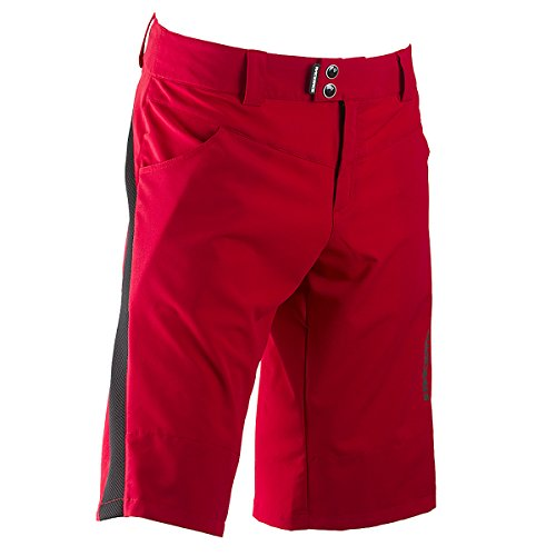 Race Face Indy Shorts, Red, X-Large