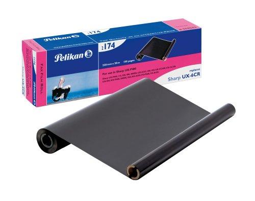 Pelikan 2174 Thermotransfer-Rolle ersetzt UX-6CR für Sharp, 220 mm x 50 m, schwarz