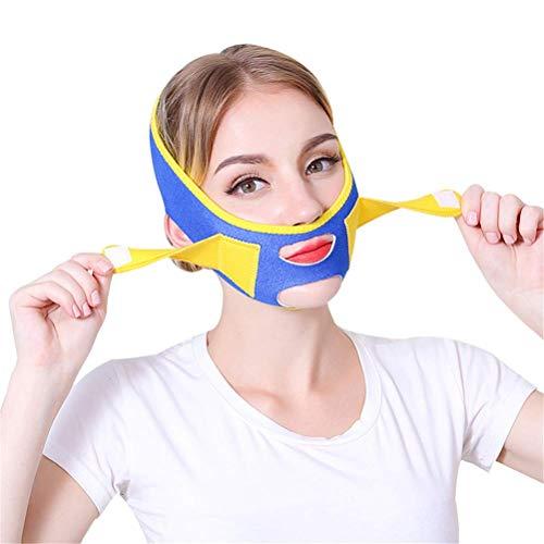 YAMEIJIA Gesichtsstraffung Gürtel V Linie Band Hals Kompression Gesicht Abnehmen Bandagen, Ajustable Straffende Gesichtspflege Lifting Wrap
