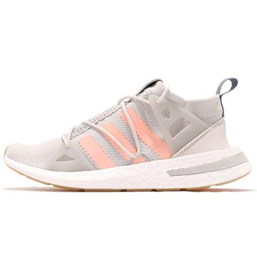 adidas ARKYN, Zapatillas de Deporte para Mujer, Gris (Grey One F17/Clear Orange/Grey Two F17), 42 2/3 EU