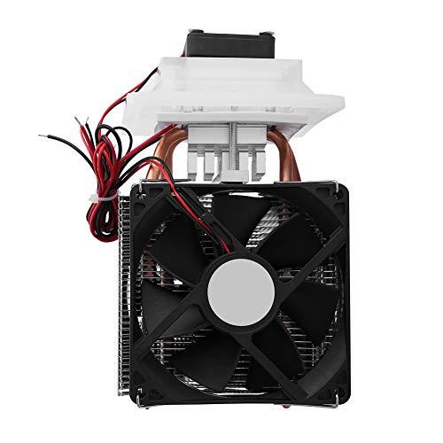 Sistema de deshumidificación de enfriamiento por aire, 12V Semiconductor Refrigeración Peltier termoeléctrica 6.88 * 3.93 * 3.85Inch 72W para enfriamiento de espacio pequeño Deshumidificación por enfr