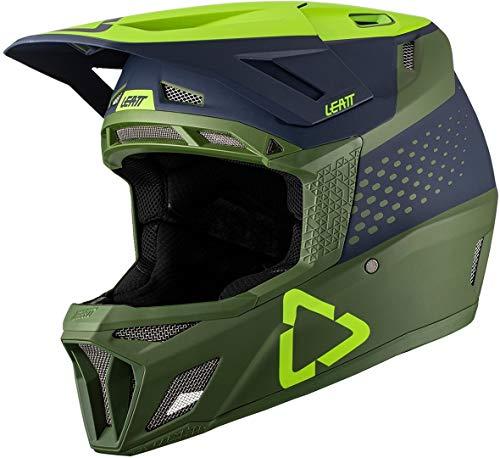 Leatt Casque MTB 8.7 Casco de Bici, Unisex Adulto, Verde Fluor, Extra-Large