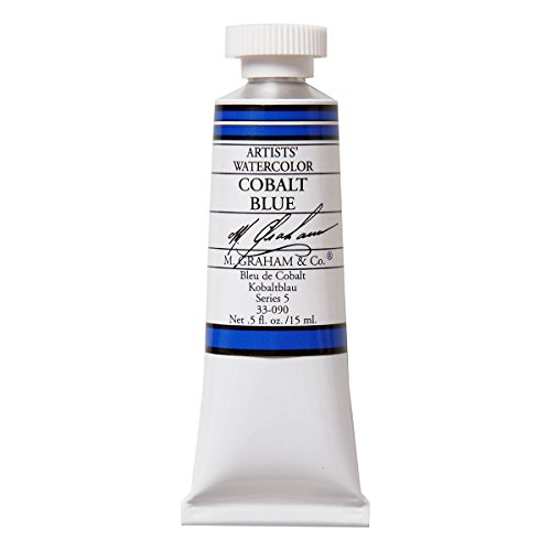 M. Graham 1/2-Ounce Tube Watercolor Paint, Cobalt Blue