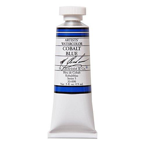 M. Graham 1/2-Ounce Tube Watercolor Paint, Cobalt Blue