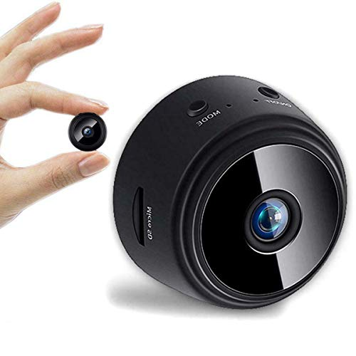 Mini Camera WiFi Wireless 1080P Full HD Video Cam Night Vision Motion Detection Smallest Remote Camcorder Security Surveillance for Home Car Office