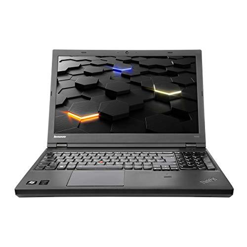 Lenovo ThinkPad W540 i7-4800MQ 2,7 GHz, 16 GB RAM, 15 Zoll 1920 x 1080 Full HD, 500 GB HDD, K1100M 2GB, Backlight, inkl. Windows 10 Pro CAM (Zertifiziert und Generalüberholt)