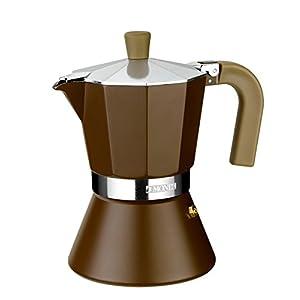 ROSSETTO cafetera Italiana Express en Aluminio 6 Tazas: Amazon.es ...