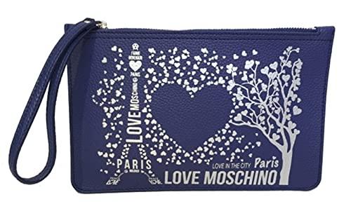 Moschino Love Pochette à bandoulière Bleu