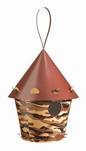 Troppenz Bachmann TT32 - vogelhuis tweet Home, rond, camouflage, bruin