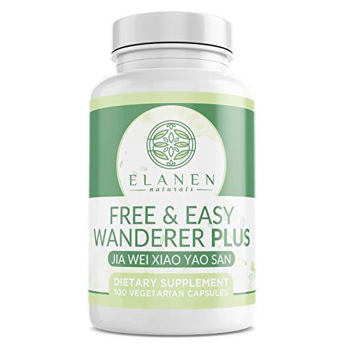 Elanen Naturals Jia Wei Xiao Yao San, Free and Easy Wanderer Plus, 100 Vegetable Capsules