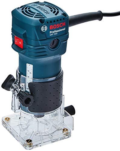 Tupia Bosch GKF 550 com 550W 127V, com 2 Pinças
