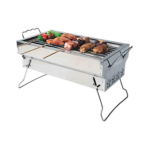 UNU_YAN Modern Simplicity Barbecue Grill, Outdoor Barbecue Grill for Household 3-5 People Charcoal Barbecue Tools Outdoor Carbon Grill Portable Stove